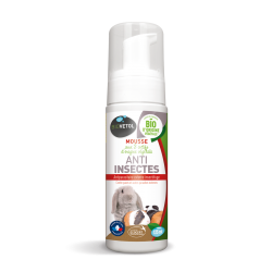 Mousse anti-insectes