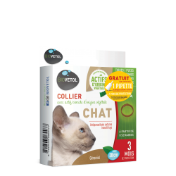 Collier insectifuge - Chat