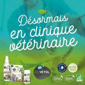 🐾🌱 !!! NOUVEAU !!! 🌱 🐾  Biovétol est enfin disponible en clinique vétérinaire !  #moncompagnonbiovetol #biovetol #petcare #organic #environnement #ecocert #actifsdoriginevegetale #fabriqueenfrance #originefrance #instadog #instacat #pet #dog #cat #animallover #soin #care #animals #madeinfrance #naturalproduct